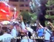 Video su Youtube di manifestazione in Siria contro Assad